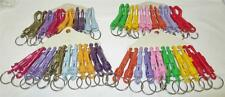 Plastic Clip-on Swivel Clip Attach Snap Hook Keychain Prize Redemption Toy Lot
