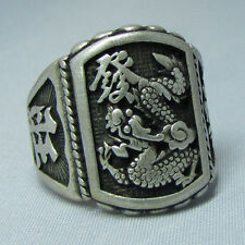 Wholesale Wonderful Tribal Tibet silver carved fashion ring  #6