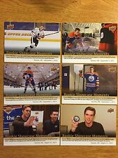 Upper Deck 2015 Expo Rookie Showcase Moment Connor McDavid card #6