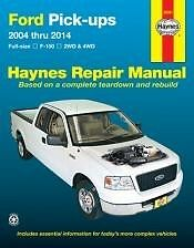 FORD F150 2004 - 2014 BRAND NEW 2WD 4WD TRUCK Shop Service Manual Owners Book