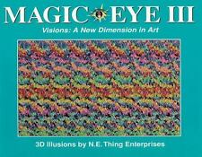 Magic Eye III, Vol. 3 Visions A New Dimension in Art 3D Illustrations-ExLibrary