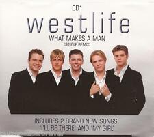 WESTLIFE - What Makes A Man (UK 3 Trk CD Single Pt 1)