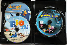 Happy Fish (Hai-Alarm) + Jasper  + Rio Spiel & Spass (2006) DVD 3 DVD's-Set