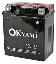 Batteria Okyami YTX7L-BS Honda SH - 150 dal 2001 - 2004