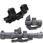1inch /30mm Quick Release Cantilever Forward Reach Dual Ring Rifle Scope Mount
