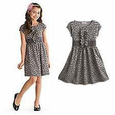 American Girl CL MY AG SWEET SAVANNAH DRESS SIZE SMALL 7 for Girls NEW Leopard