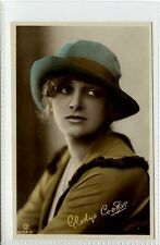 (Gn585-395) Real Photo of GLADYS COOPER c1920 Unused EX Rotary B136-2