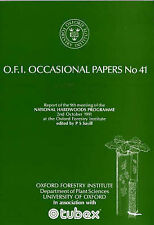 National Hardwoods Programme: Report of the Ninth Meeting, 2 October 1991 (Oxfor