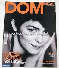 DOMINICAL 2009 AUDREY TAUTOU Portada Cover+5 Pg Interview MICHAEL C. HALL ROSANA