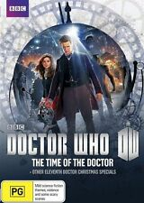 Doctor Who:The Time of Doctor & Other Eleventh Doctor Christmas Specials DVD NEW