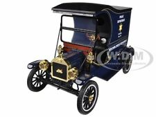1915 FORD MODEL T CARGO VAN NYPD 1/18 DIECAST MODEL BY MOTORCITY CLASSICS 88121
