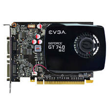 FREE SHIP EVGA NVIDIA GeForce GT 740 Superclocked 4GB DDR3 2DVI/Mini HDMI pci-e