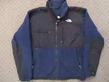 THE NORTH FACE DENALI DARK NAVY BLUE BLACK WINTER SKI FLEECE JACKET COAT MENS M