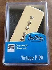 Seymour Duncan Vintage P-90 Soapbar Bridge Pickup Creme Cover SP90-1 11301-06-Cr