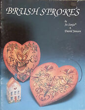 Brush Strokes by Jo Sonja & David Jansen Decorative Folk Art Instruction Book