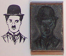 Charlie Chaplin rubber stamp by Amazing Arts