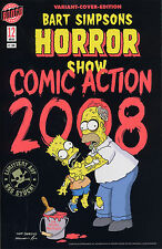 Bart SIMPSONS Horror Show #12 VARIANT-COVER limitiert 666 Ex. COMIC ACTION 2008