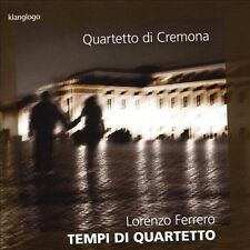 Lorenzo Ferrero: Tempi di Quartetto New CD