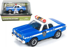 "Auto World R17 Dodge Monaco Police Car ""Ghostbusters"" Slot Car 1:64 / HO Scale"