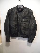 PRO-SPORT leather Biker Jacket Motorcycle (size 44) Padded Cafe