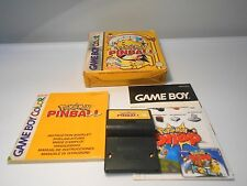 Pokemon Pinball (Nintendo Game Boy Color) game w/box manual papers advance sp