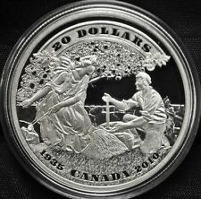 2010 Canada $20 Fine Silver Coin 75th Anniversary of the First Banknotes