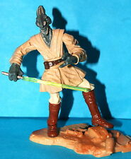 STAR WARS SAGA COLEMAN TREBOR JEDI KNIGHT BATTLE OF GEONOSIS LOOSE COMPLETE
