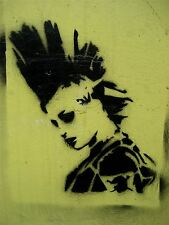 Art Imprimé Poster Photo Murale Graffiti Street Art Mohawk Punk nofl0265