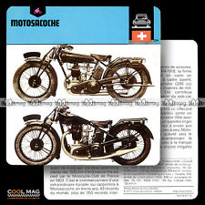 #07.10 MOTOSACOCHE Photo : Modèles 409 & 410 - Fiche Moto Motorcycle Card