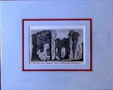 ROMA - Veduta del Tempio della Speranza Vecchia - PRONTI - 1795 - Rif. 174 R 7