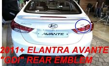 Fit For 2011 2012 Hyundai Elantra Avante trunk rear GDi Emblem Genuine Parts