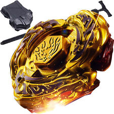 L-Drago Destructor Destroy Gold Armored Beyblade STARTER SET w/ Launcher Ripcord