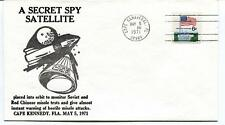 1971 Secret Spy Satellite Soviet Red Chinese Missle Cape Kennedy Canaveral USA