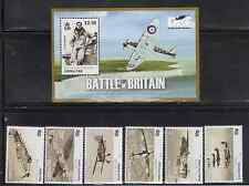Gibralter 1222-28 Battle of Britain Aircraft Mint NH