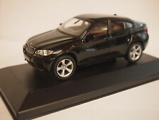BMW X6 In Black 1/43rd Scale