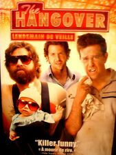 The Hangover (DVD, 2009 Canadian) Bradley Cooper WORLDWIDE SHIP AVAIL!