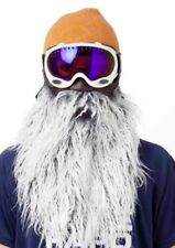 BEARDSKI SKI MASK HARLEY FACE MASK SKIING SNOWBOARD FAKE BEARD FANCY DRESS SNOW