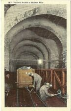 Scranton Pa Anthracite Coal Mining Region Vaulted Arches in Mine Postcard #21789