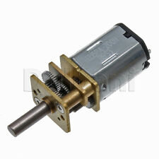 6V DC 400 RPM High Torque Open Gearbox Electric Motor 1215PA-200H