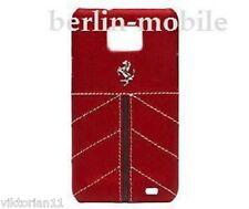 Ferrari Horse caballo bolso funda rojo Samsung Galaxy s2 GT i9100 plus i9105p
