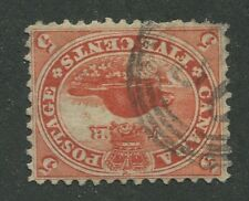 """CANADA #15 USED 4-RING NUMERAL CANCEL """"30"""" (.03)"""