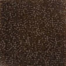 Miyuki Delica Size 11/0 Seed Beads Transparent Root Beer 7.2g Tube (B80/14)