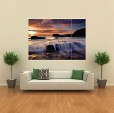 BEAUTIFUL SEA SKY LANDSCAPE SCENERY GIANT POSTER WALL ART PRINT PICTURE G812