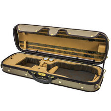 NEW Top Grade Deluxe Quality Solid Wood 4/4 Size Acoustic Violin Fiddle Case W1