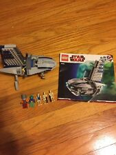 Lego Star Wars The Clone Wars #8036 Separatist Shuttle 100% Complete w Manual