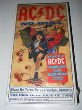 "AC/DC ""No Bull:Live-Plaza De Toros,Madrid""  VHS+Post Card (Eastwest RA 1996 USA)"
