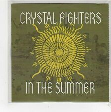 (FU744) Crystal Fighters, In The Summer - DJ CD