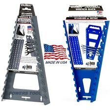 Hansen Universal Wrench Tray Set Organizer Rack Holder Metric SAE Sticker Labels