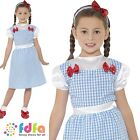 DOROTHY WIZARD OF OZ BOOK WEEK TOTO - age 4-9 - kids girls fancy dress costume