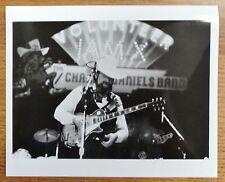 Charlie Daniels  - Unsigned B & W Press Photo 8X10 - Glossy - Volunteer Jam Ten